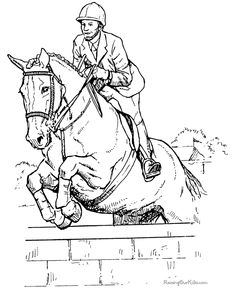 horse show jumping coloring pages jumping horse coloring page horse coloring horse horse show coloring jumping pages