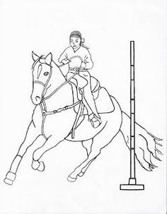 horse show jumping coloring pages jumping horse coloring page pony camp craft ideas horse jumping coloring pages show