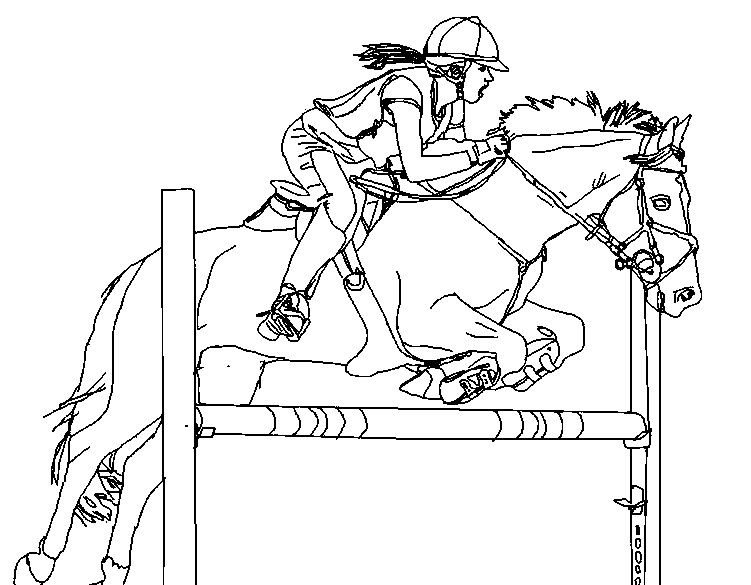 horse show jumping coloring pages show jumping horse coloring pages at getcoloringscom coloring horse jumping pages show
