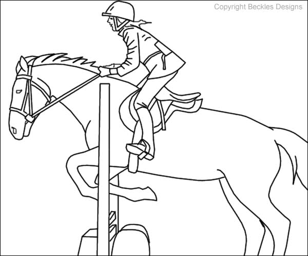 horse show jumping coloring pages show jumping horse coloring pages at getcoloringscom coloring pages show horse jumping