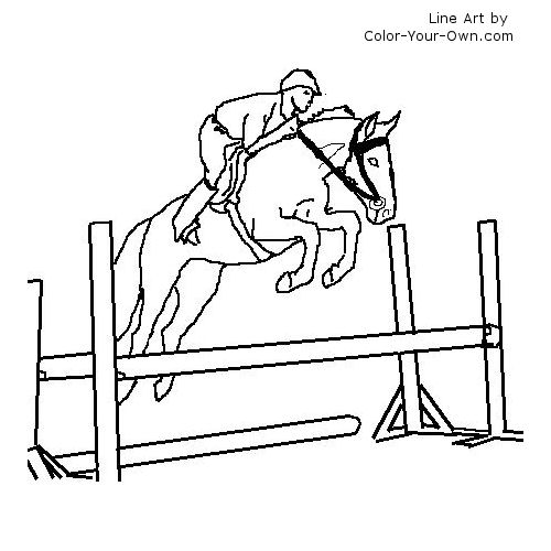 horse show jumping coloring pages show jumping horse coloring pages at getdrawings free horse coloring pages jumping show