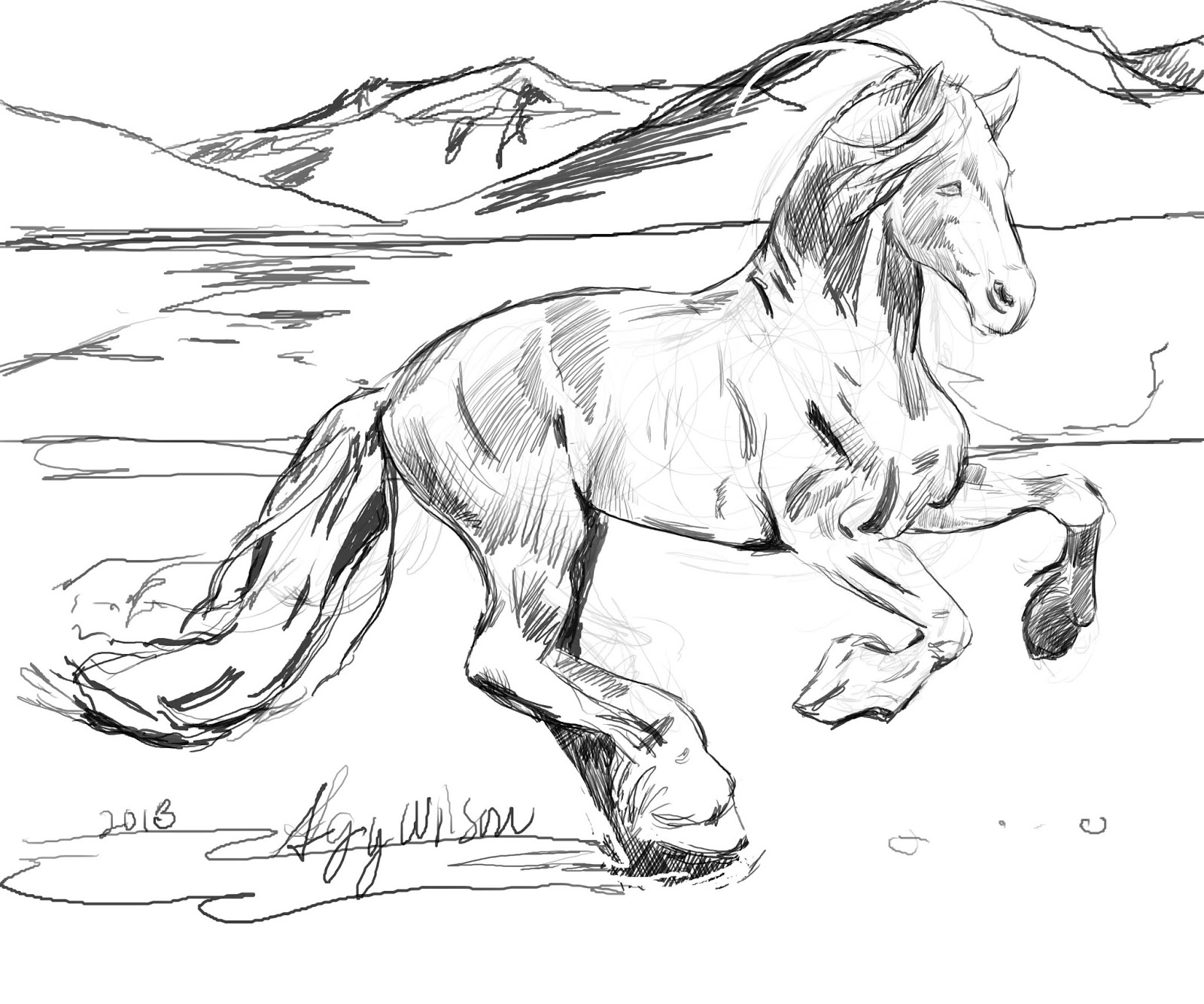 horses for free 9 inspirational pages to color selah works cindy39s free horses for
