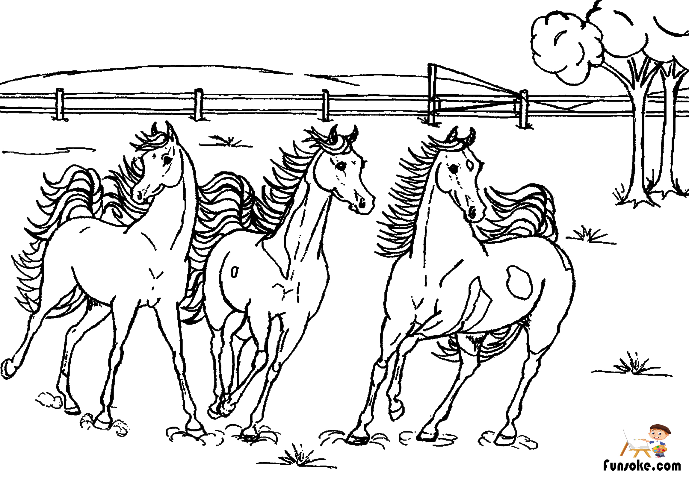 horses for free free horse coloring pages selah works cindy39s adult for free horses