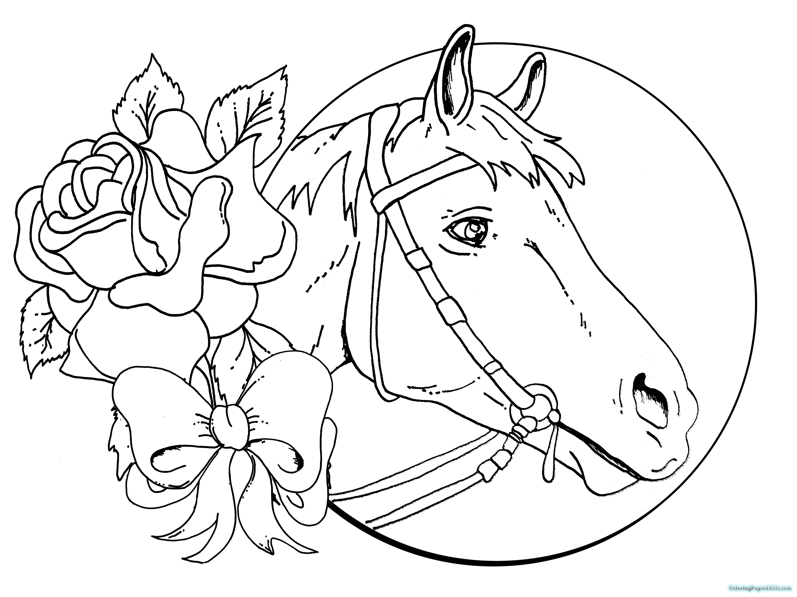 horses for free free horse coloring pages selah works cindy39s adult for horses free