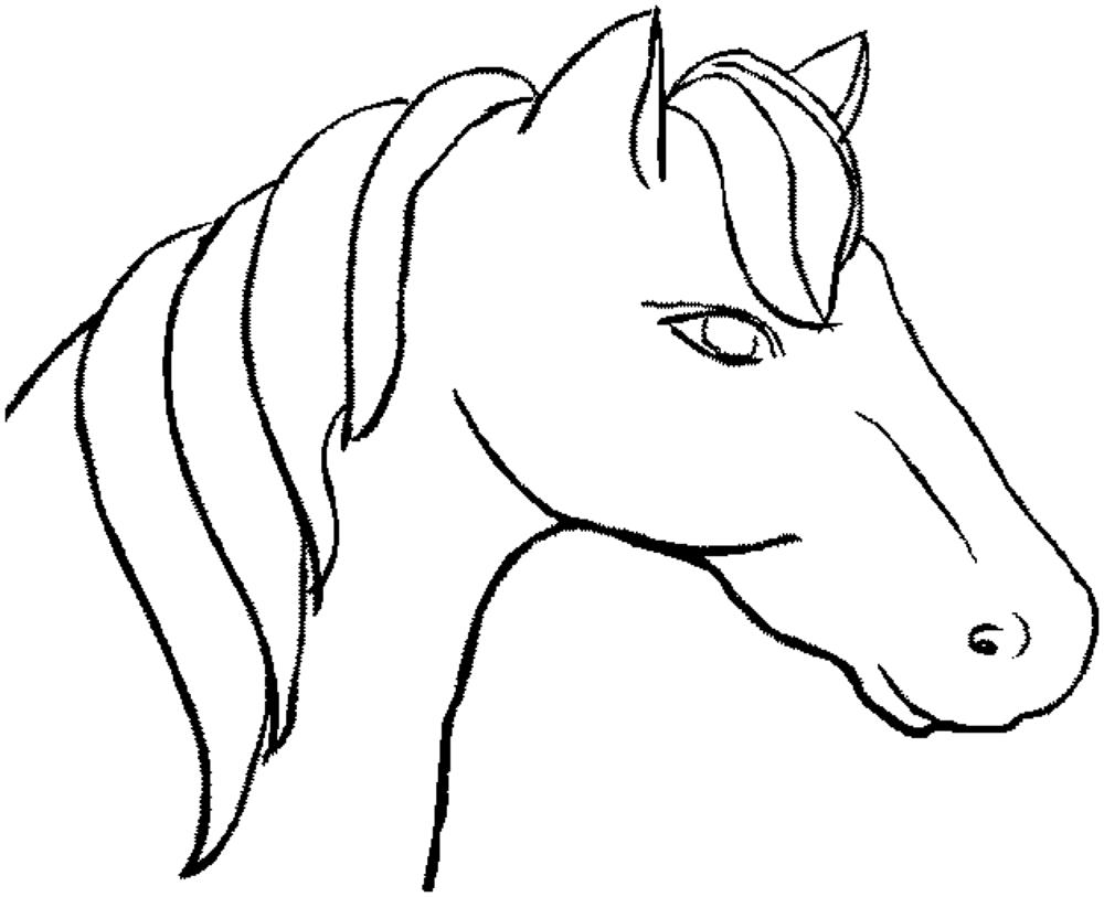 horses pictures to print horse free to color for children trotting horse horses horses pictures print to