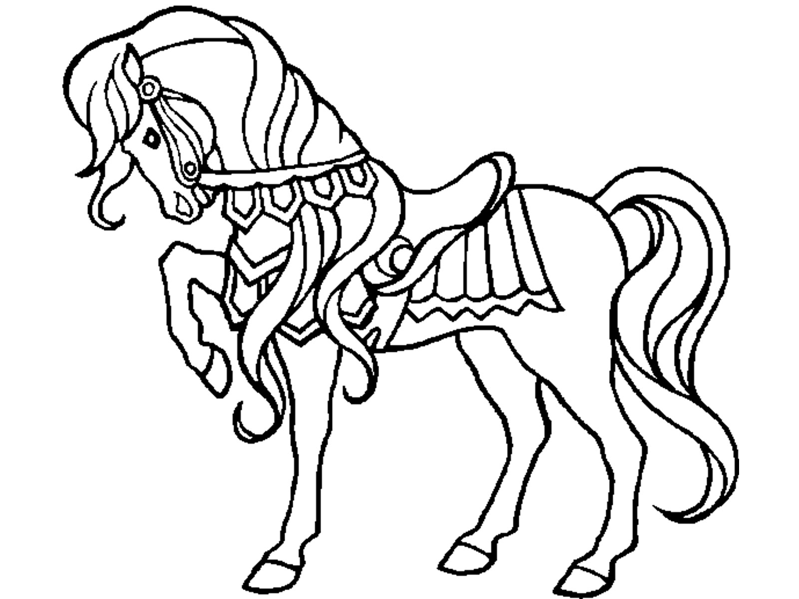 horses to color free printable horse coloring pages for kids color to horses