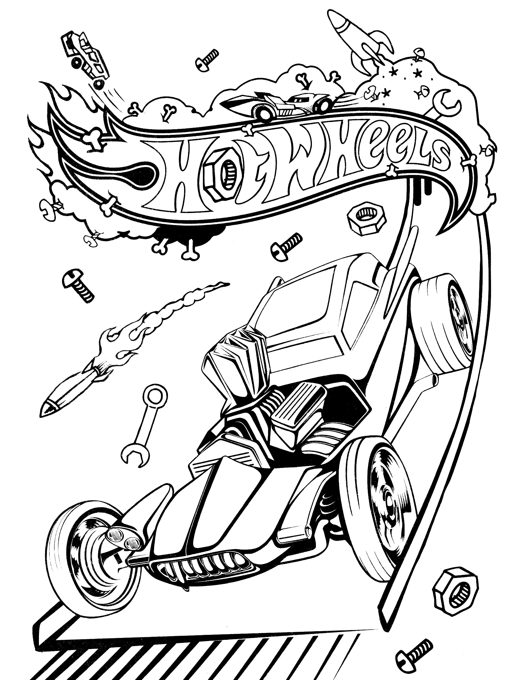 hotwheels colouring pages free printable hot wheels coloring pages for kids hotwheels pages colouring 1 1