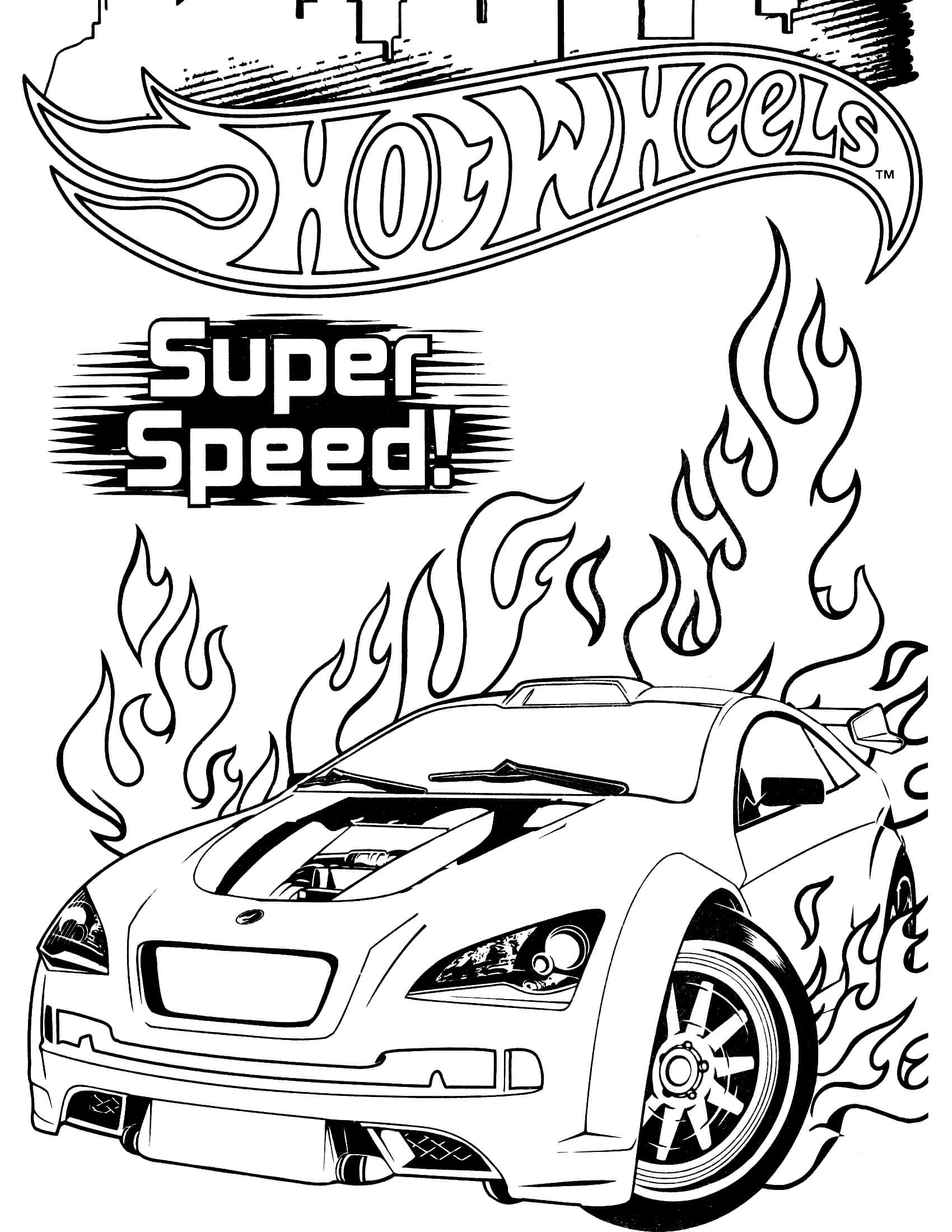 hotwheels colouring pages hot wheels 58 coloringcolorcom pages colouring hotwheels