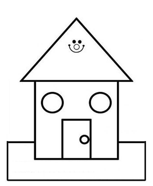 house for coloring free cartoon illustrations clipart no watermark images for house coloring
