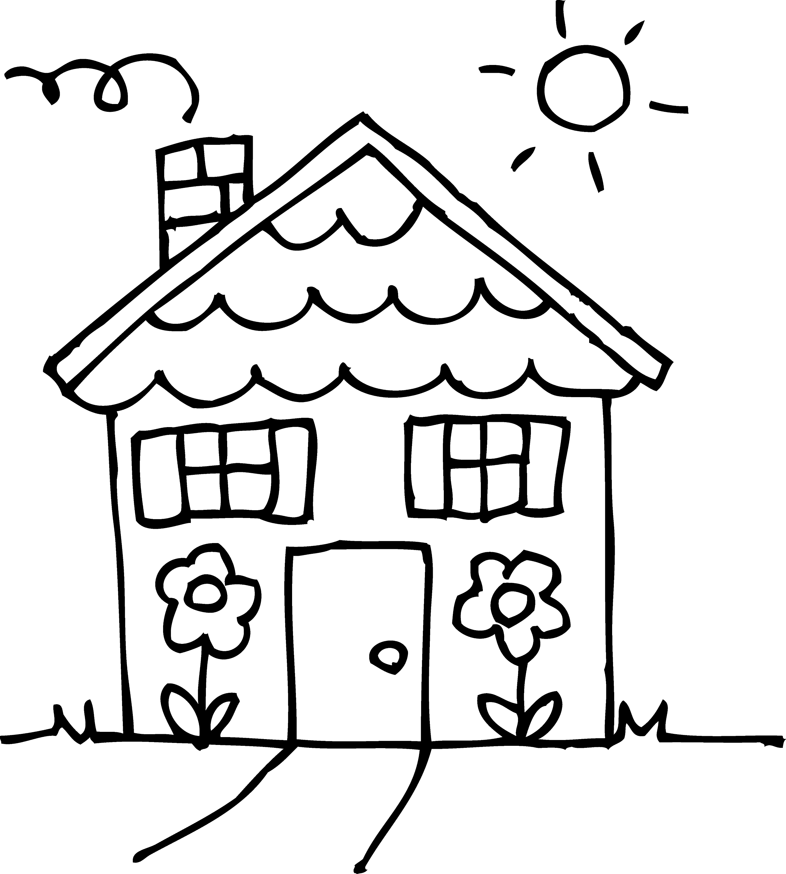 house for coloring free printable haunted house coloring pages for kids for coloring house