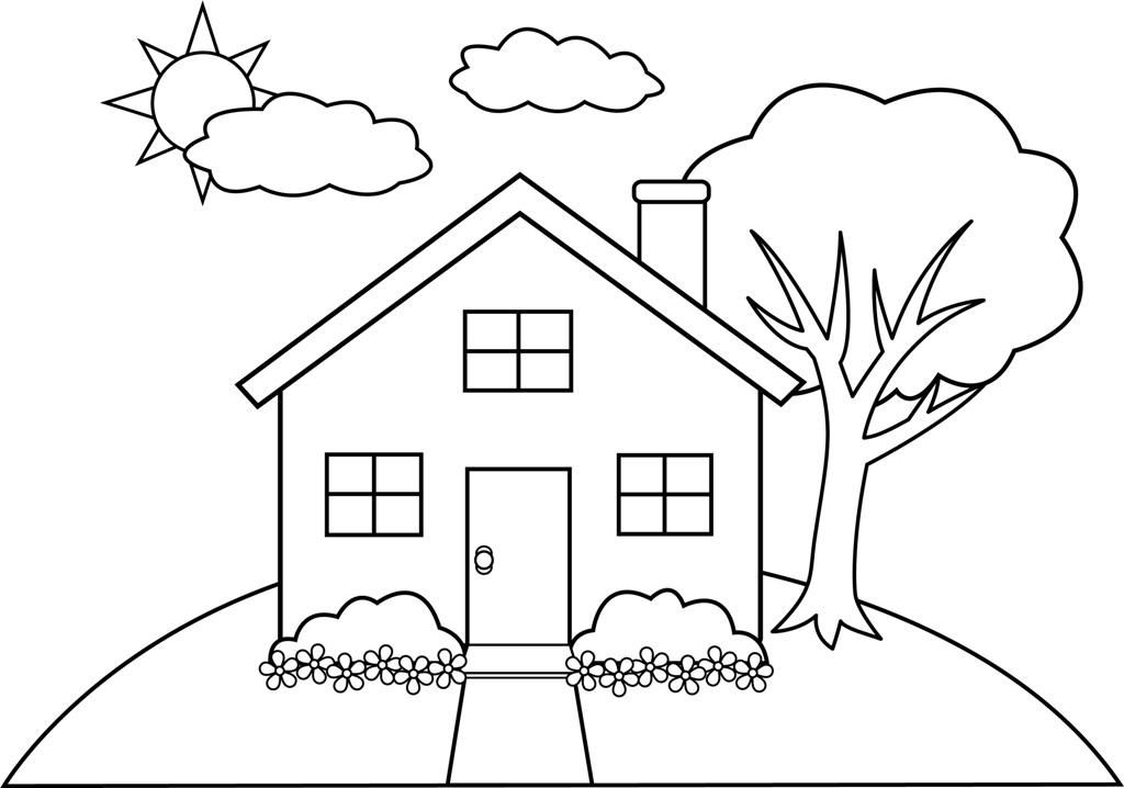 house for coloring free printable house coloring pages for kids house for coloring