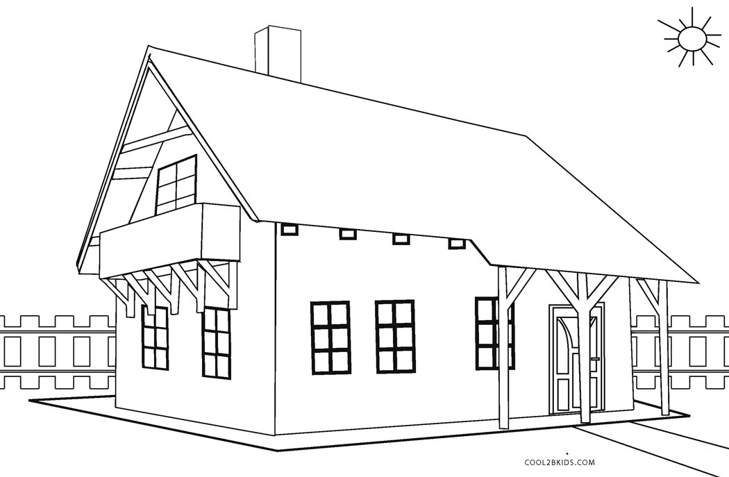 house for coloring printable gingerbread house coloring pages for kids house coloring for