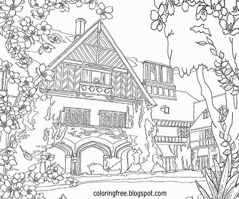 house for coloring printable haunted house coloring pages for kids coloring house for