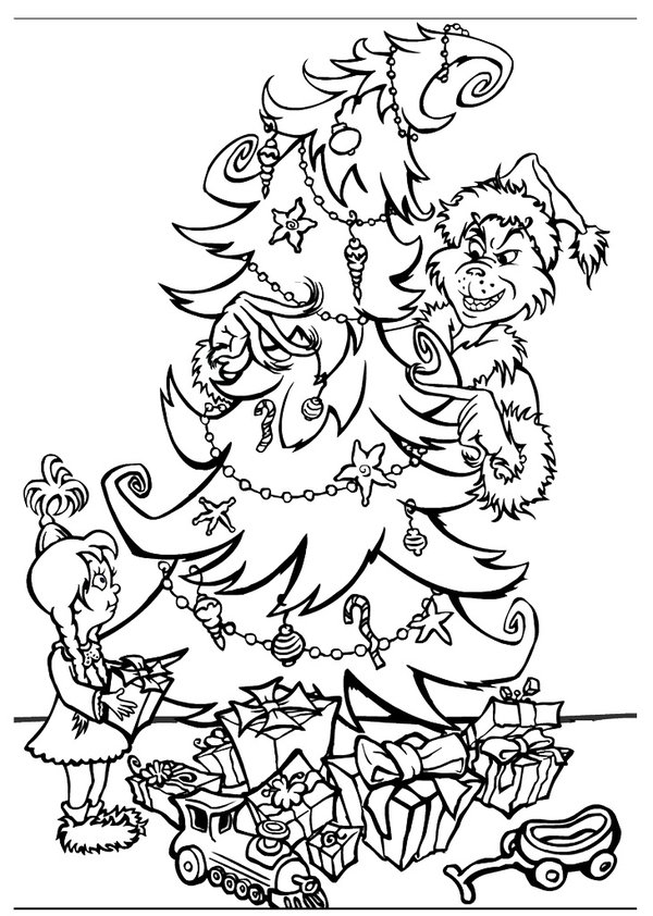 how the grinch stole christmas coloring pages the grinch who stole christmas coloring pages at the christmas how pages stole coloring grinch