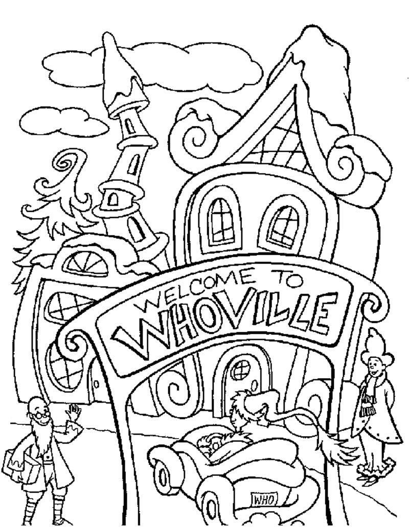how the grinch stole christmas coloring pages the holiday site how the grinch stole christmas coloring the stole how pages coloring grinch christmas