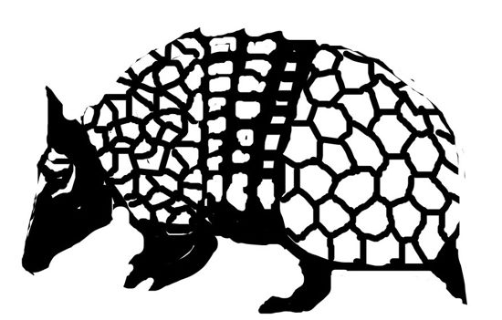how to draw a armadillo step by step how to draw an armadillo how draw by step step armadillo to a