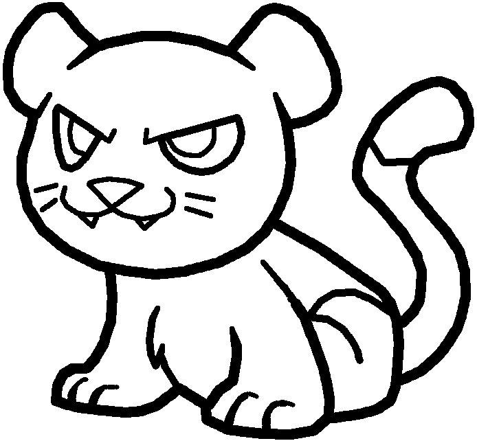 how to draw a baby cougar hand drawn baby cougar clip art k21513109 fotosearch how draw baby cougar to a