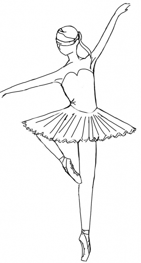 how to draw a balerina ballerina cartoon drawing at getdrawings free download a draw to how balerina