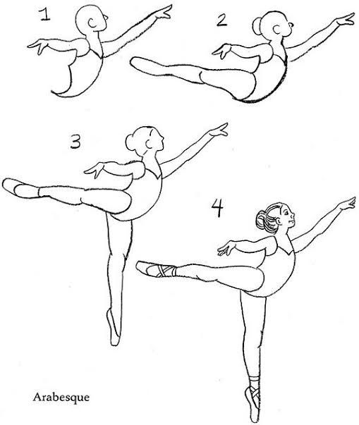 how to draw a balerina ballerinas drawing at getdrawings free download to a how draw balerina