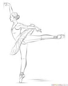 how to draw a balerina image result for simple dancer images ballerina drawing draw how balerina a to