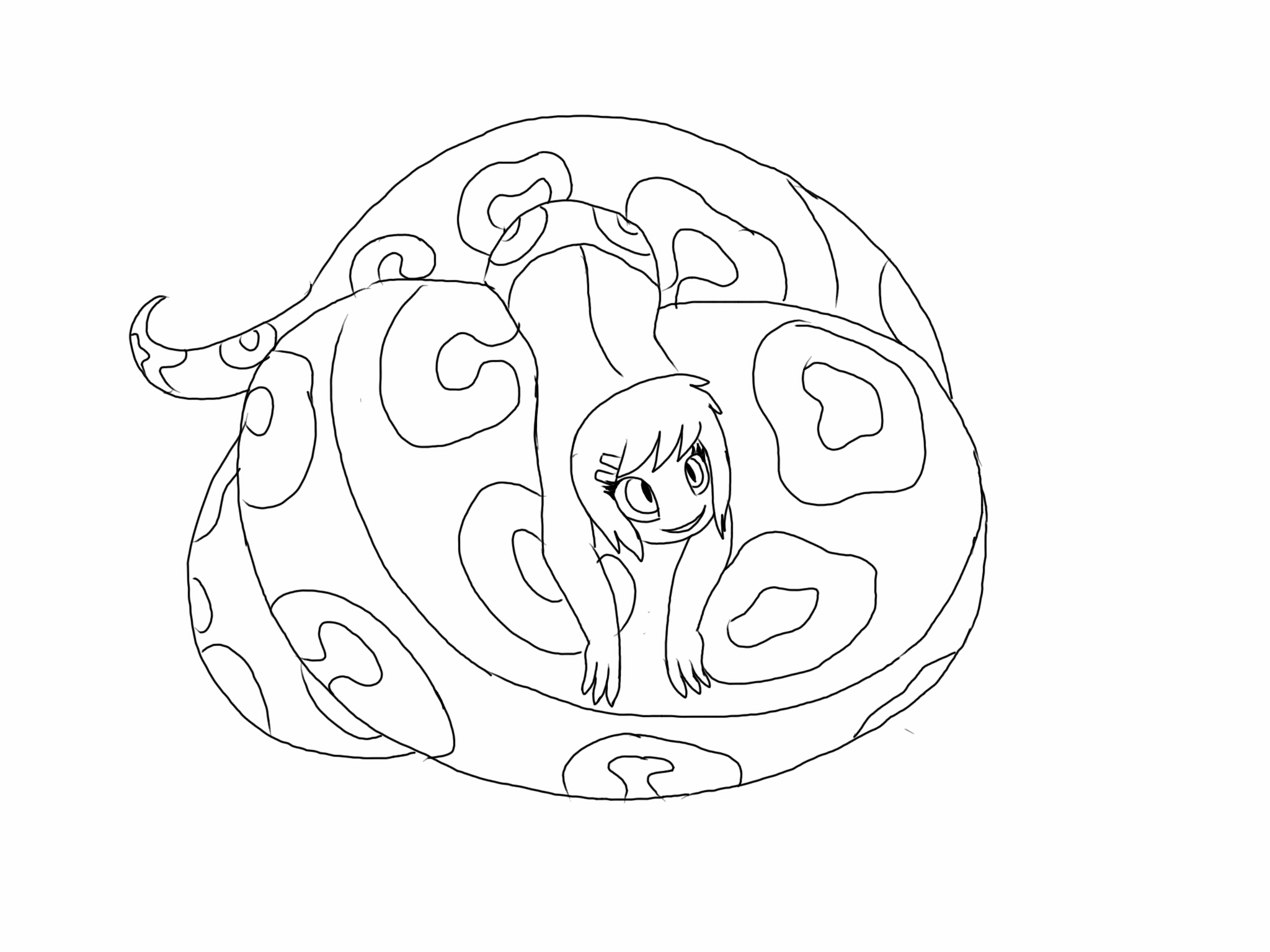 how to draw a ball python ball at getdrawings com free for personal line drawing ball how a python to draw