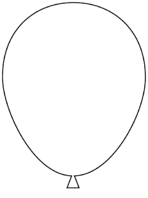 how to draw a balloon a balloon a common shape to learn to draw how to a balloon draw