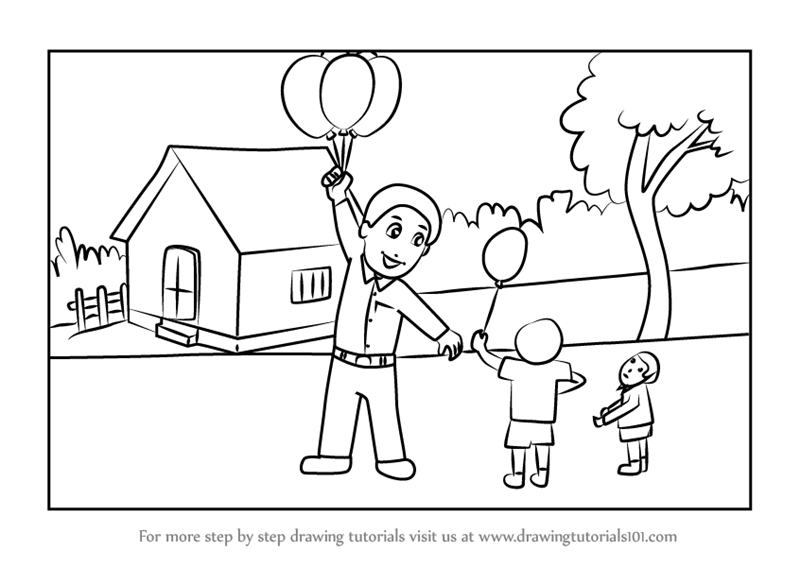 how to draw a balloon free pencil cartoon drawings download free clip art free how a balloon to draw