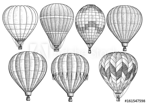 how to draw a balloon how to draw a hot air balloon step by step drawing a how draw to balloon