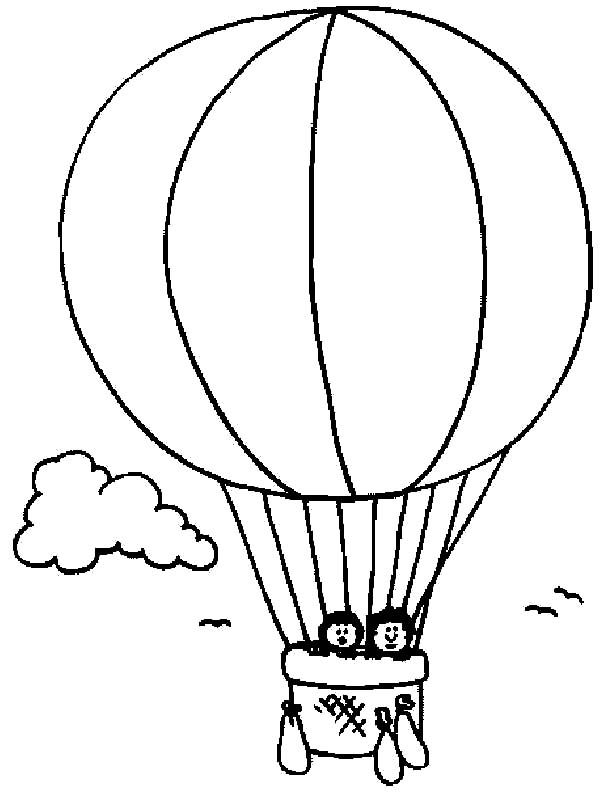 how to draw a balloon pin by coloringsky on air balloon coloring pages ballon how draw to balloon a