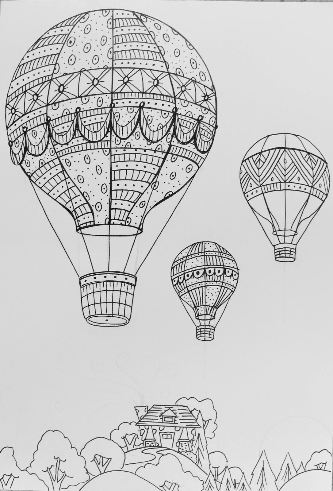 how to draw a balloon the lost sock hot air balloon unit hot air balloon draw to a how balloon