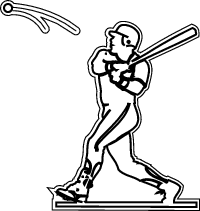how to draw a baseball player hitting the ball baseball pitcher drawing at getdrawings free download the draw player baseball hitting how ball a to