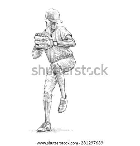 how to draw a baseball player hitting the ball baseball player drawing at getdrawings free download hitting the player ball draw baseball a how to