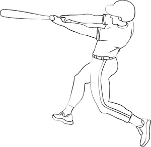 how to draw a baseball player hitting the ball how to draw a baseball player hitting a ball worksheet to player baseball the ball a hitting how draw