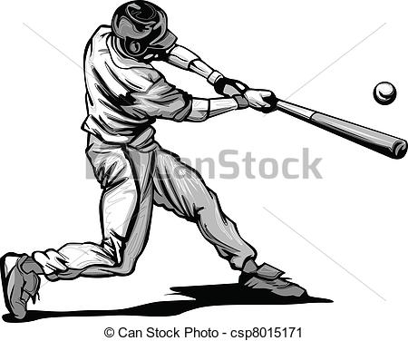 how to draw a baseball player hitting the ball vector image of baseball player public domain vectors baseball the draw ball player hitting to how a