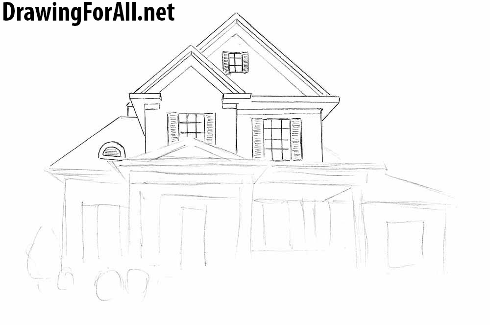 how to draw a big house big house drawings portfolio projects home plans big a how to house draw