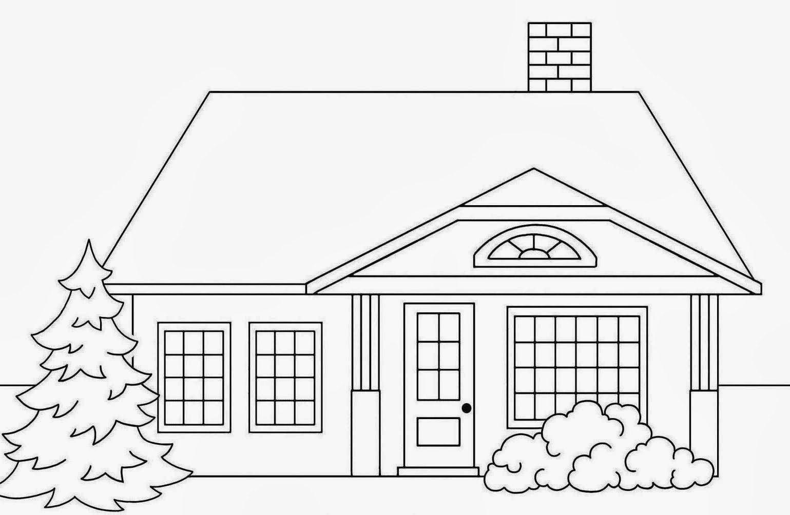 how to draw a big house coloring wallpaper for home wallpapersafari big house draw a how to