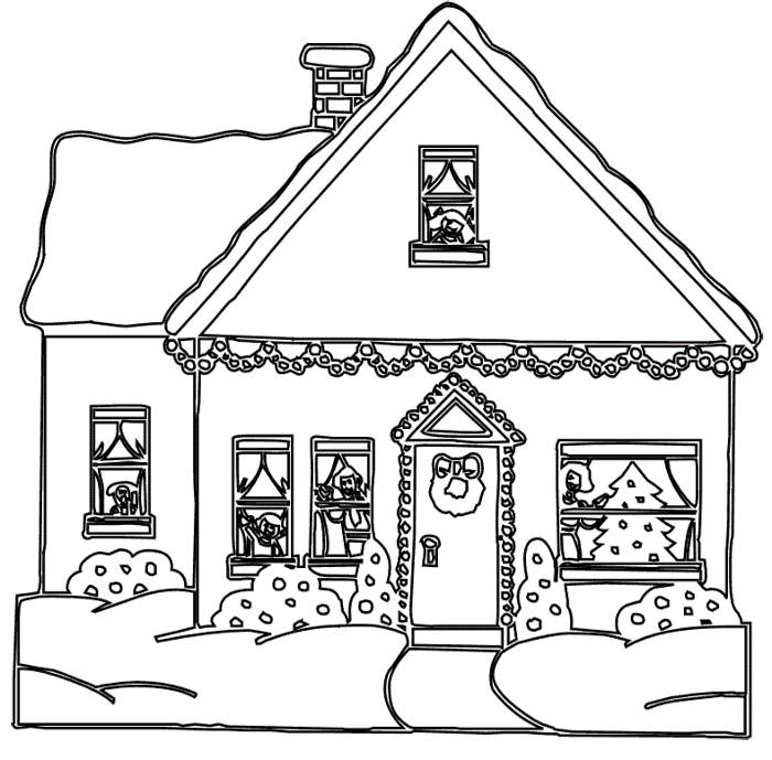 how to draw a big house full house coloring pages coloring home to how draw big a house