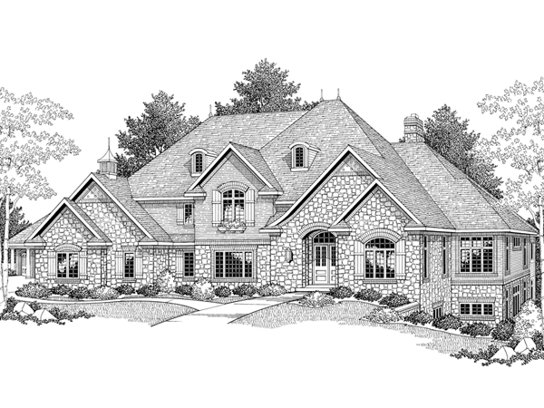 how to draw a big house honey cypress luxury home plan 051s 0049 house plans and how to house a big draw