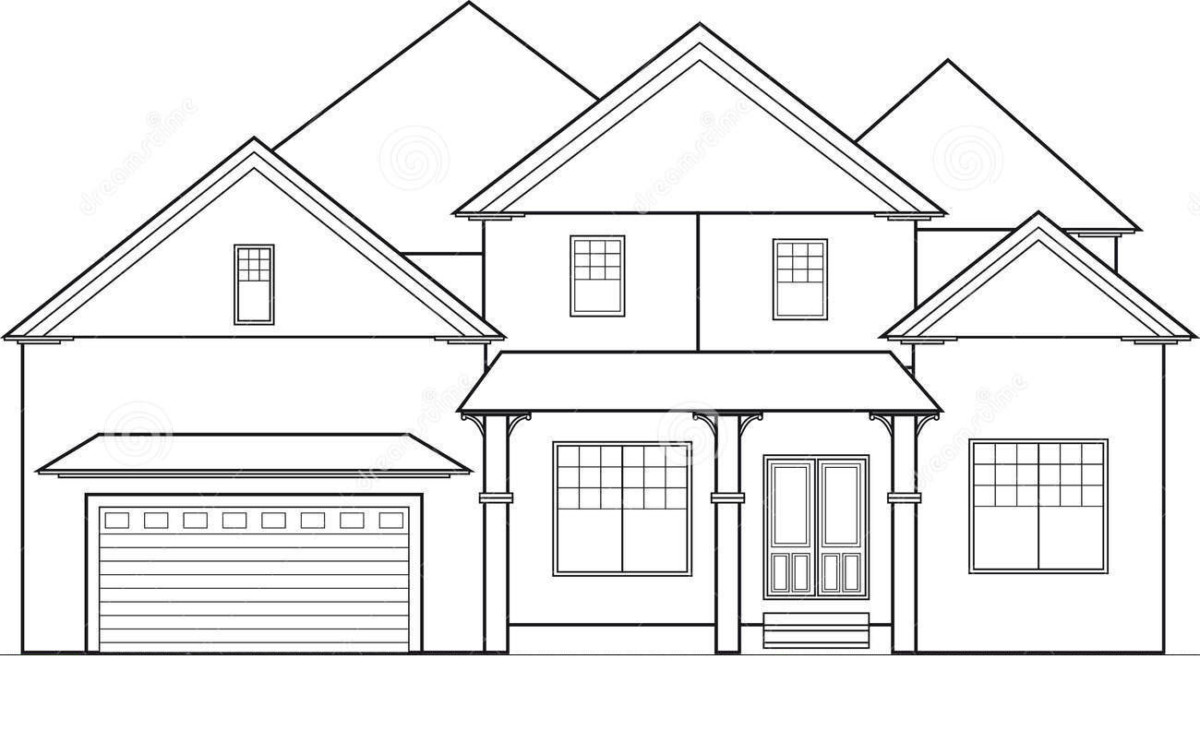 how to draw a big house house roof drawing at getdrawings free download to house big how a draw