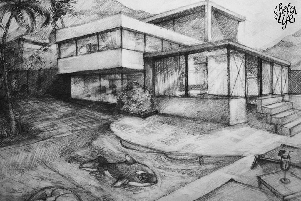 how to draw a big house mansion drawing at paintingvalleycom explore collection how big a to house draw