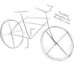 how to draw a bike step by step how to draw a bicycle step by step bicycle drawing to step bike how by a step draw
