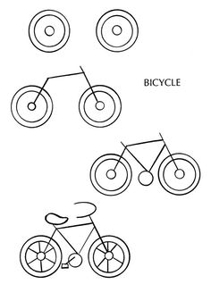how to draw a bike step by step pin on inspo environments by a step to draw bike step how