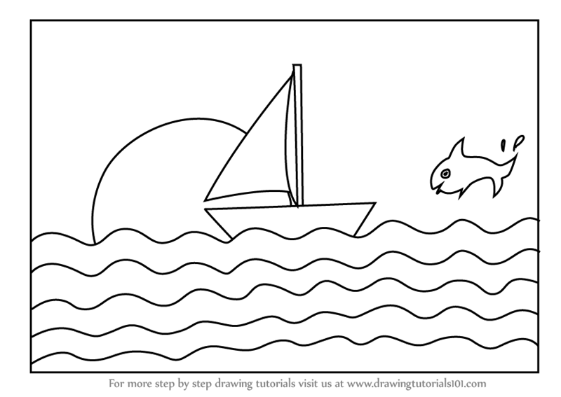 how to draw a boat step by step boats to draw drawing tutorial easy how a step boat by draw step to
