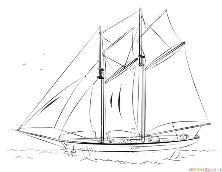 how to draw a boat step by step how to draw a boat step by step arcmelcom by how a draw step boat to step