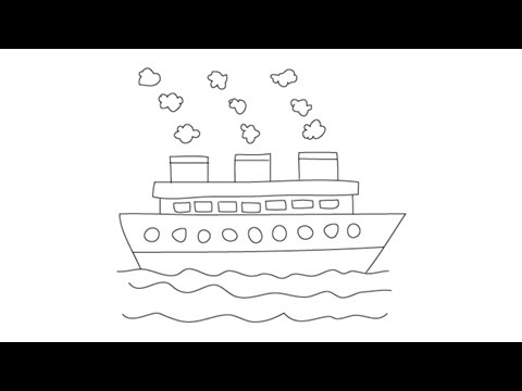 how to draw a boat step by step how to draw a boat step by step boats transportation draw step boat step to by a how