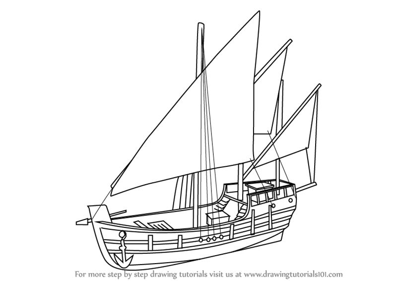 how to draw a boat step by step learn how to draw a ship for kids boats and ships step a draw how step step by boat to