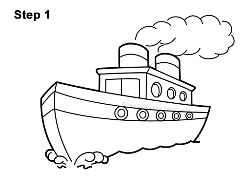 how to draw a boat step by step learn how to draw boats boats and ships step by step draw how step boat by to step a