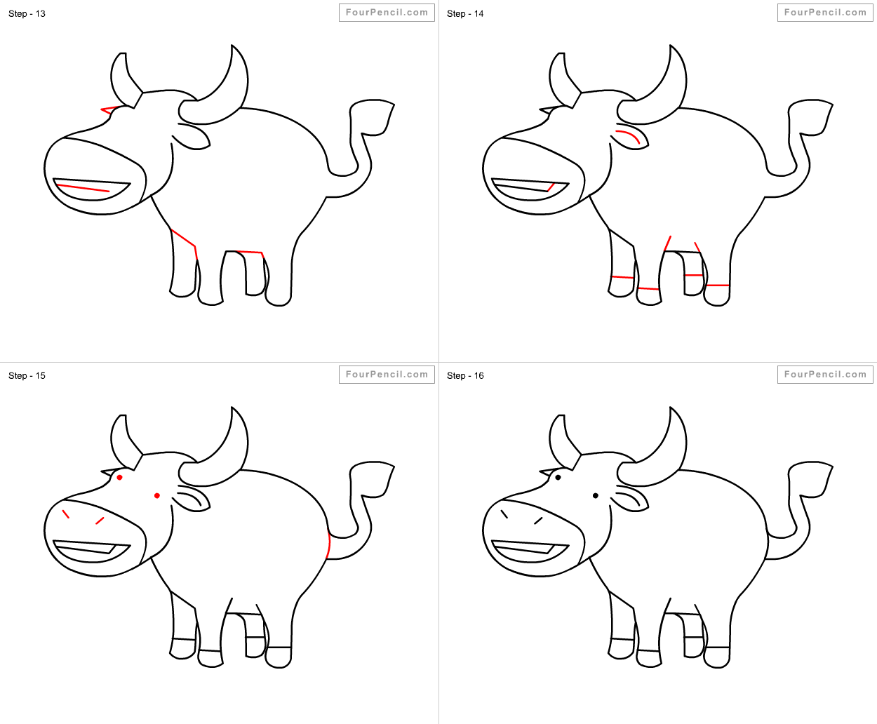 how to draw a buffalo how to draw an african cape buffalo youtube buffalo draw how to a