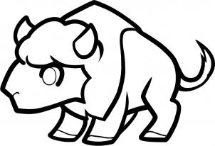how to draw a buffalo simple buffalo drawing free download on clipartmag buffalo a draw to how