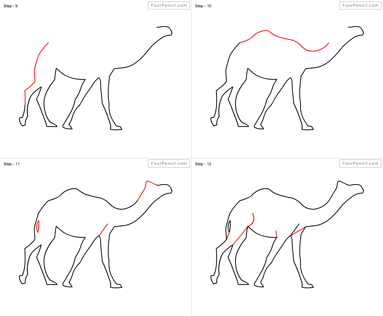 how to draw a camel fpencil how to draw camel for kids step by step camel a how draw to